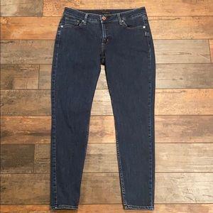 Silver Jeans Co Avery skinny jeans size 31 dark